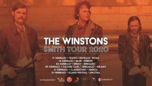 """THE WINSTONS: IL 17 GENNAIO A ROMA INIZIA LA SECONDA PARTE DEL TOUR DI """"SMITH"""""""