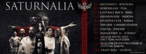 Deathless Legacy: annunciano il Saturnalia 2020 Tour