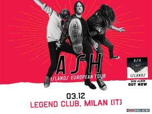 ASH: il trio nordirlandese torna con un'unica data in Italia a dicembre!