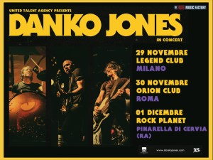 DANKO JONES: un grande ritorno in Italia con ben tre date autunnali per la band canadese