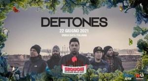 Deftones: unica data italiana a Bologna il 22 Giugno 2021