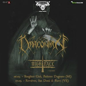 Draconian + Nightfall: due date in italia