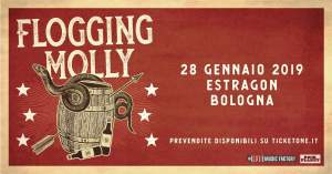 FLOGGING MOLLY: a gennaio una nuova data in Italia per la band Irish punk