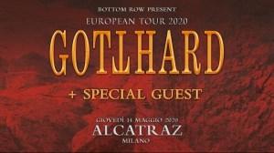 Gotthard: una data all'Alcatraz di Milano a Maggio