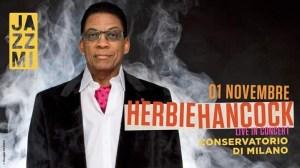Herbie Hancock - Live il 1 Novembre @Conservatorio di Milano
