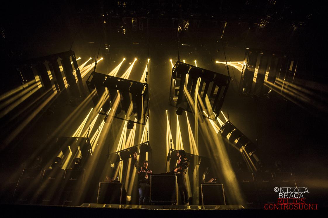 Justice + MGMT live al Milano Summer Festival (foto di Nicola Braga)