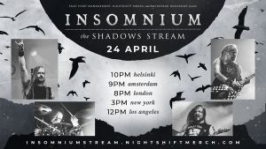 INSOMNIUM: annunciano The Shadows Stream