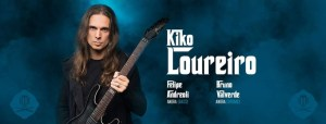 Kiko Loureiro: live al Campus Industry Music di Parma e al Crossroads si Roma