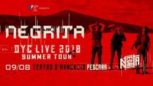 I Negrita in Concerto al Teatro D'Annunzio di Pescara!