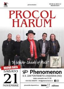 Procol Harum: data italiana riprogrammata il 21 Novembre