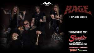 "RAGE: una data a Milano per il ""Live Resurrection"" tour 2021"