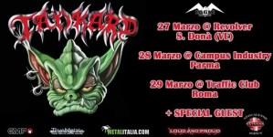 Tankard - 3 date in Italia a Marzo