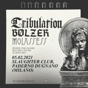 Tribulation: una data a Milano nel 2021