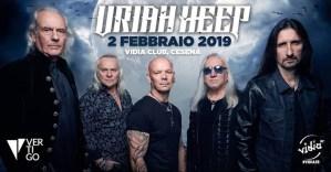 Uriah Heep: arrivano a Febbraio a Cesena