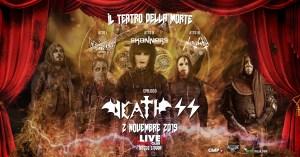 Death SS al Live Club il 02 Novembre 2019