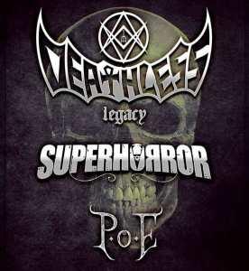 Deathless Legacy-Superhorror-Poe all'Arcitom Mantova il 2 Marzo