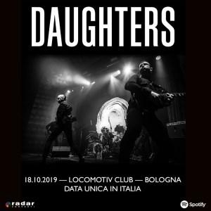 Daughters, unica data italiana ad ottobre