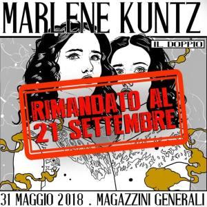 Marlene Kuntz: rimandato al 21 settembre il concerto di Milano