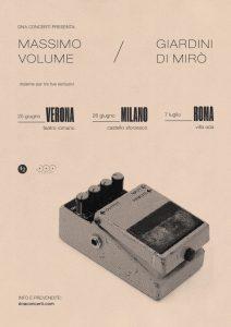 Mini tour per i Massimo Volume e i Giardini di Mirò