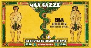 Max Gazzè e il 20° anniversario de La favola di Adamo ed Eva fanno tappa all'Auditorium di Roma
