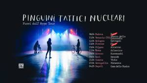 Pinguini Tattici Nucleari: annunciate le date del tour