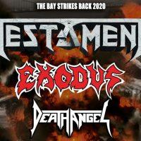 TESTAMENT The Bay Strikes Back Tour | Milano Martedì 25 febbraio 2020