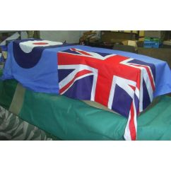 Sofa Bed Made In Uk Portland Vs Denver Sofascore Raf Ensign Coffin Drape Large Flag - Relics Replica Weapons
