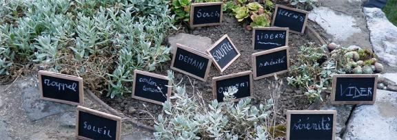 Slide - Petites pancartes
