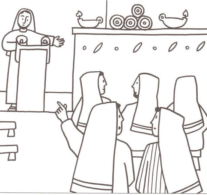 Paul At Ephesus Coloring Page Teaches Coloring Pages