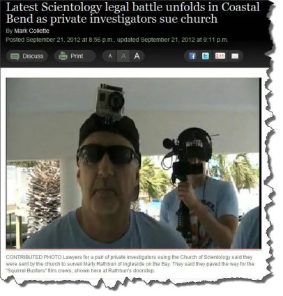 Scientology's Squirrel Busters
