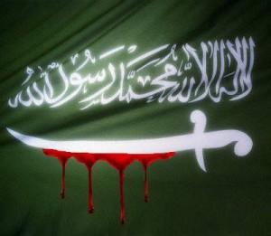 JihadflagBlood