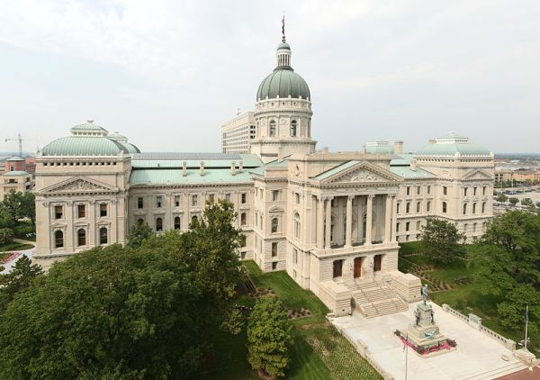 Indiana State House - Photo: Wikimedia Commons