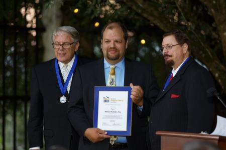 (left to right) Max Torkelson, Michael Peabody, Gregory Hamilton