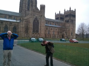 The bells of Durham Cathedral clearly impacted upon David Wilson and David Robertson (April 2013)