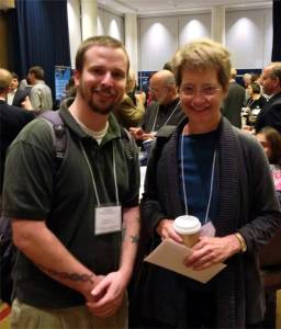 Thomas J. Coleman III with Ann Taves at SSSR 2013