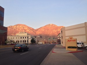 View from the Provo Marriott conference center