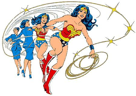 wonder woman with lasso