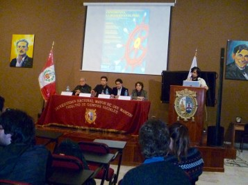 Opening session. Photo by Alondra Oviedo.