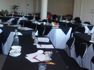 The Manata room at the Mercure Resort Queenstown, which hosted the conference.
