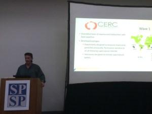 Joe Henrich presenting.