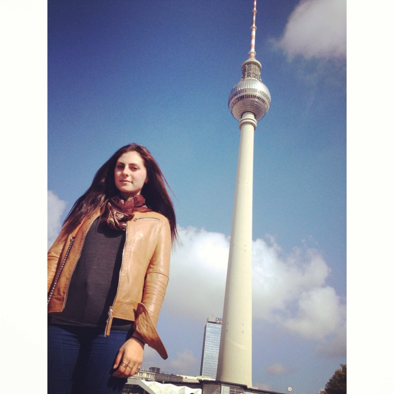 Berlin's famous TV Tower