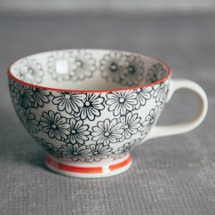 Colorful Kitchen Accessories Best High End Appliances Patterned Jumbo Mug - Relish Decor