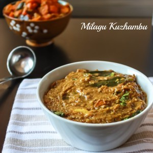 Milagu Kuzhambu / Pepper Curry