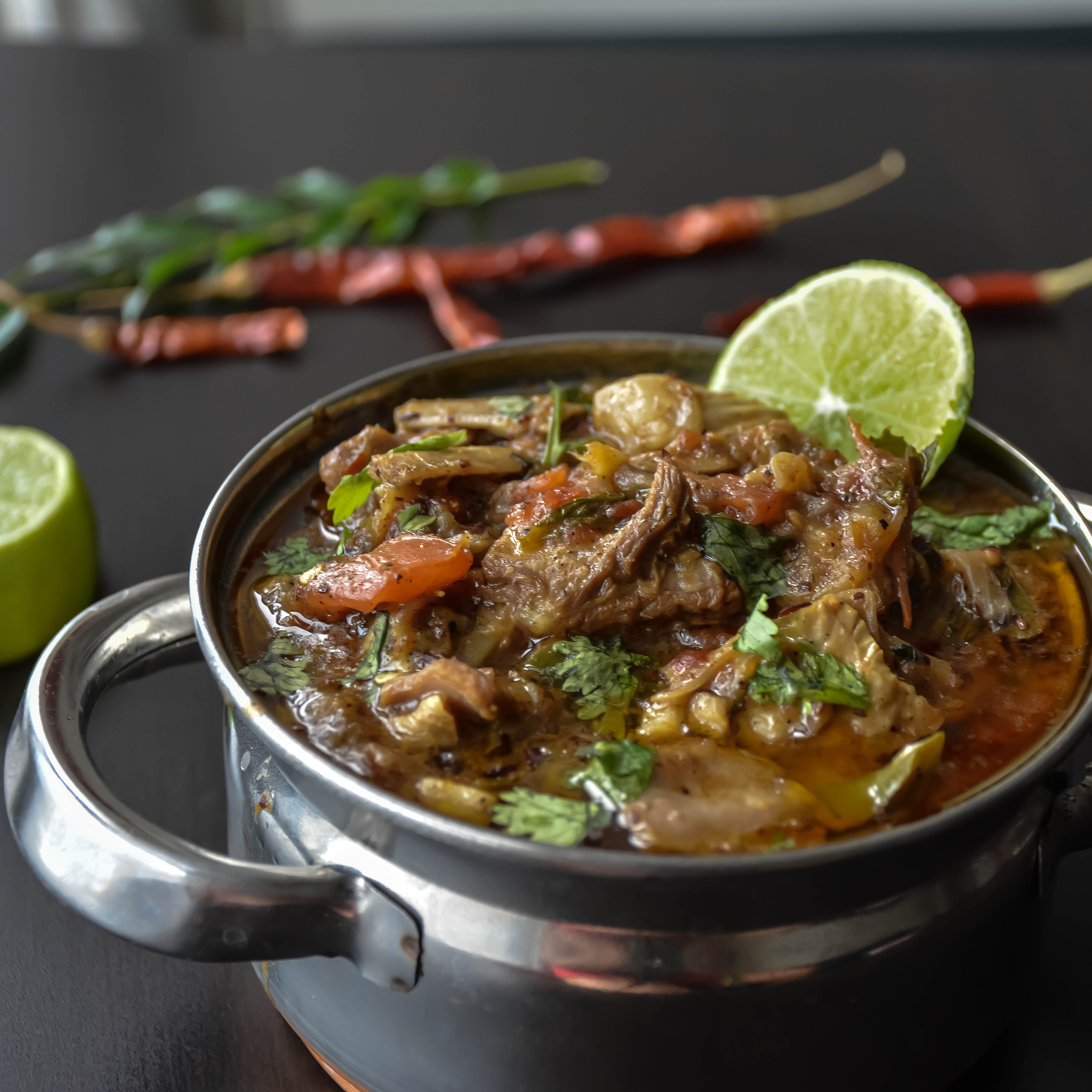 Kadai ghost lamb curry relish the bite this dish is also called as karahi ghost they are named as kadai ghost as they are traditionally prepared in kadai indian forumfinder Image collections