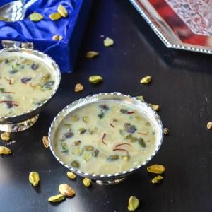 Basundi/ Condensed Milk Pudding