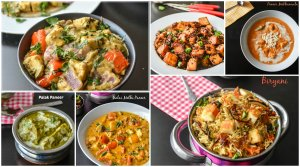 Paneer (Indian Cheese) & Tofu Recipe Collection