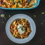 Healthy Mexican Corn quinoa Casserole + Corning Ware Giveaway