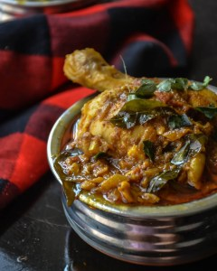 Madurai Chicken curry/kuzhambu