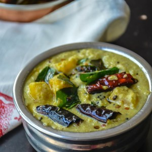 Parangikai paal Kootu/ Yellow Pumpkin milk based curry