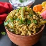 Tindora/ Ivy Gourd/ Pavakkai Foxtail Millet rice